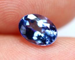 0.91cts TOP Colour Violet Blue D Block Tanzanite / LS149