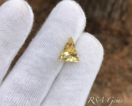 Triangular Golden Beryl - 3.02 carats