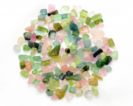 100 Ct Mix Rough Tourmaline From Afghanistan
