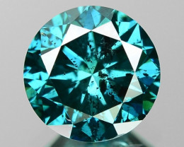 1.08 Cts Sparkling Fancy Greenish Blue Color Natural Loose Diamond