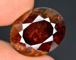 Rare 17.80 Ct Natural Sphalerite Great Dispersion Spain