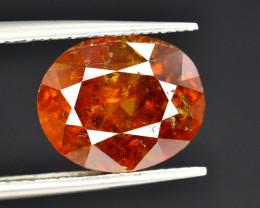 Rare 5.30 Ct Natural Sphalerite Great Dispersion Spain