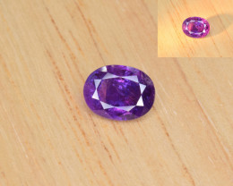 Natural Color Changing Sapphire 1.60 Cts from Afghanistan
