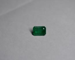1.74 Carat top Green Panjshir Emerald
