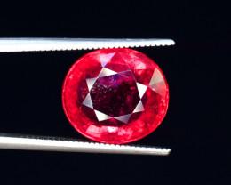 GGL  Certified 6.59 Carats Rubellite Tourmaline Gemstones