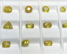 11.90 Carats Sphene Titanite Gemstones Parcel