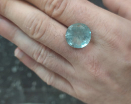 12Ct Natural Aquamarine