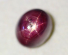 6.93Ct Natural 6 Rays Star Ruby  Lot LZB676