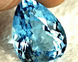 23.77 Carat VVS Brazil Blue Topaz - Gorgeous