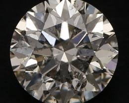 IGI Certified  0,71ct  ROUND  Natural Diamond