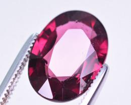Superb Color 3.50 Ct Natural Rhodolite Garnet. ARA