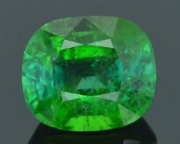 AAA Grade 2.0 ct Afghan Lime Green Tourmaline Sku-34