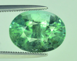Top Grade 5.0 ct Lime Green Tourmaline~Afghanistan