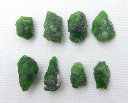 81.5cts Handmade Green Gemstone ,Dioptase Cabochons ,Lucky Stone D444