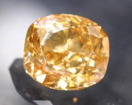 1.16Ct Fancy Brow Color Natural Diamond TR17