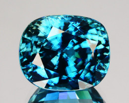 ~DAZZILING~ 9.12 Cts Natural Zircon - Blue - Cambodia Gem
