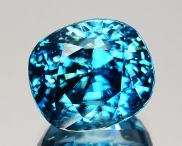 ~DAZZILING~ 10.50 Cts Natural Zircon - Blue - Cambodia Gem