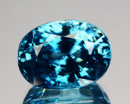~DAZZILING~ 10.87 Cts Natural Zircon - Blue - Cambodia Gem
