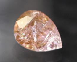 0.50Ct Fancy Purple Pink Natural Argyle Diamond TR27