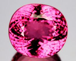 27.13 Cts Beautiful Natural Tourmaline Sweet Pink Oval Mozambique Gem