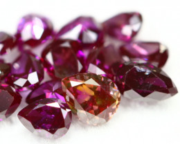 1.21Ct Fancy Vivid Purplish Red Color Natural Diamond BM76