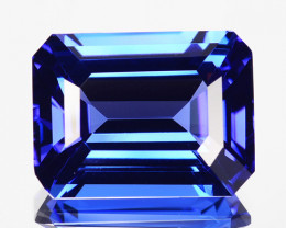 Flawless 12.03 Cts Natural Nicely Faceted AAA Blue Tanzanite Gemstone
