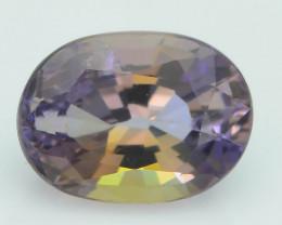 AAA Grade 1.08 ct Bi Color Tanzanite Supreme Rare SKU-17