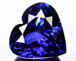 FLAWLESS 14.88 Cts WONDERFUL LUSTER NATURAL AAA BLUE TANZANITE GEM
