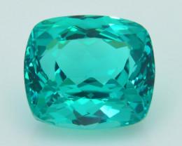 Rare 3.97 ct Amazing Luster Green Apatite SKU.6