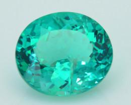 Rare 5.05 ct Amazing Luster Green Apatite SKU.6