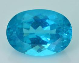 Rare 6.08 ct Blue Apatite (Paraiba Color) SKU.5