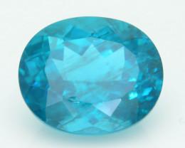Rare 7.87 ct Amazing Luster Blue Apatite SKU.5