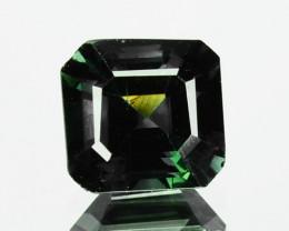 1.13 Cts Natural Corundum Green Sapphire Sri Lanka Unheated Gem