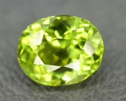 3.00 Ct Top Quality Oval Shape Peridot Gemstone