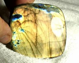 CERTIFIED - 279.7 Carat Large, Natural Labradorite - Gorgeous