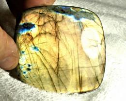 CERTIFIED - 279.7 Carat Large, Natural Labradorite - 67mm by 64