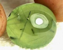 39.61 Carat Fancy Rutile Prehnite - Gorgeous