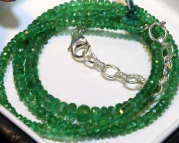 48.45- CTS EMERALD BEADS STRAND PG-2591