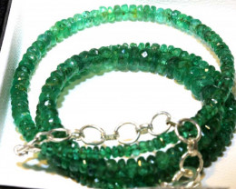 51.80- CTS EMERALD BEADS STRAND PG-2596