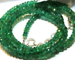60.55- CTS EMERALD BEADS STRAND PG-2597