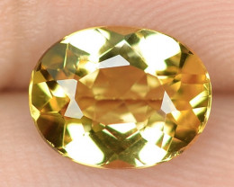 1.42 CTS NATURAL AMAZING RARE GOLDEN YELLOW BERYL LOOSE GEMSTONE