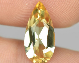 2.39 CTS NATURAL AMAZING RARE GOLDEN YELLOW BERYL LOOSE GEMSTONE
