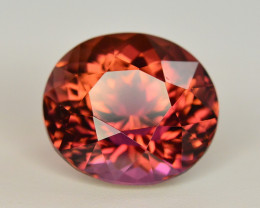 Incredible Color 7.10 Ct Bi Color Watermelon Tourmaline From Afghanistan
