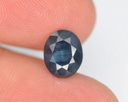 2 ct Natural Untreated Blue Color Sapphire AD