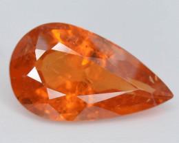 3 ct Natural Fanta Orange Color Pear Shape Spessartite Garnet~ AD