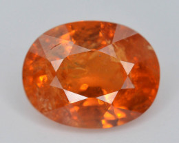 3.35 ct Natural Fanta Orange Color Spessartite Garnet AD