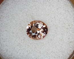 1,90ct Padparadscha coloured  Tourmaline - Master cut & Glowing!