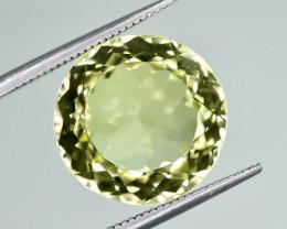 12.28 Crt Natural Lemon Quartz Faceted Gemstone.( AG 78)