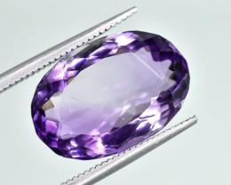 8.98 Crt Natural Amethyst Faceted Gemstone.( AG 78)
