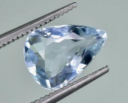 2.02 Crt Natural Aquamarine Faceted Gemstone.( AG 78)